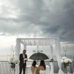 Boda de Sara & Victoria - Novias casándose con paraguas - Santiago Stankovic Fotógrafo