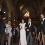 Boda Alicia y Ariel - Novia entrando en iglesia - Santiago Stankovic Fotógrafo
