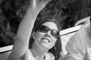 Boda Marina y Jaime - Novia haciendo selfie - Santiago Stankovic Fotógrafo