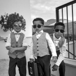 Boda de Sara & Victoria - Niños con maletín - Santiago Stankovic Fotógrafo