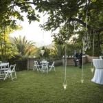 Boda Alicia y Ariel - Vista del jardín - Santiago Stankovic Fotógrafo