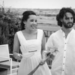 Boda Marina y Jaime - Novios en terraza con vistas - Santiago Stankovic Fotógrafo